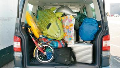 ¿Cómo deben colocarse las maletas?