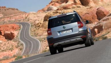 El Skoda Yeti ofrece al conductor muy buenas sensaciones en asfalto
