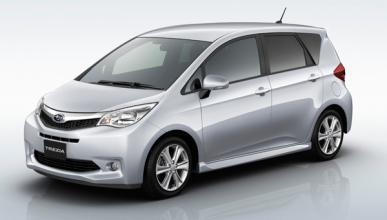 Subaru presenta en Japón el nuevo monovolumen Trezia