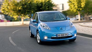 Nissan Leaf frontal
