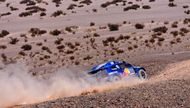 Fotos: Carlos Sainz pierde nueve minutos y se aleja del triunfo final