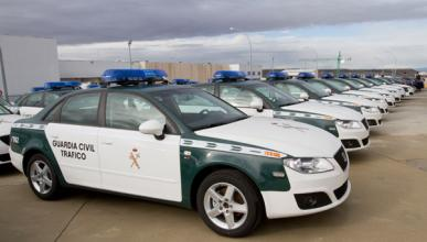 Flota Seat Exeo Guardia Civil Radar