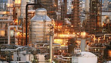 Refinería petroleo