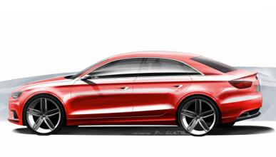 Audi A3 Concept Lateral