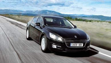 Peugeot 508 movimiento exterior frontal