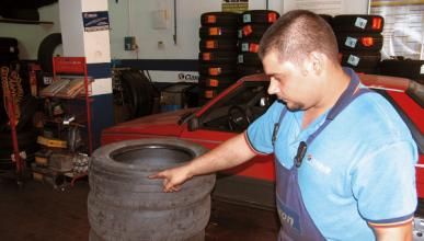 Las ruedas blandas malgastan 2.000 litros de combustible