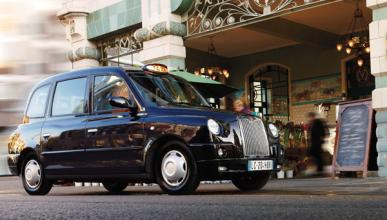 Los taxis de Londres salen de la City