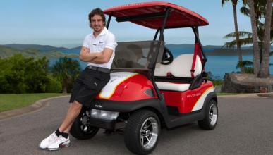Fernando Alonso en Hamilton Island
