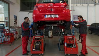 Un día en un taller de Toyota