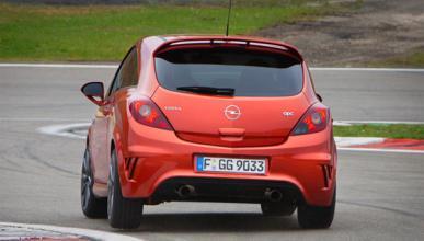 Opel Corsa OPC Nürburgring Edition trasera