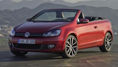 VW Golf Cabrio frontal