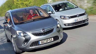 Opel Zafira - VW Touran