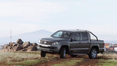 Volkswagen Amarok derrape