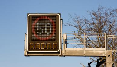 Los radares previenen más accidentes en vías rápidas