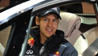 Sebastián Vettel, jugador de fútbol