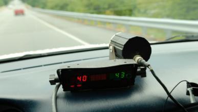 Un diputado de CIU, a 165 km/h y sin puntos