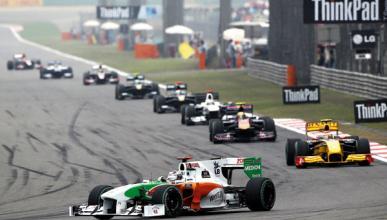 Motores V6 1.6 turbo para los F1 a partir de 2014