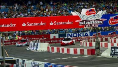 Dani Sordo vence a Alguersuari en el Stadium Race
