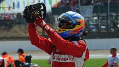 Alonso no piensa en el título, solo en ganar carreras