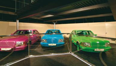 Los coches del jeque Hamad Bin Hamdan Al-Nahyan