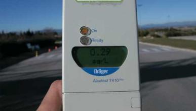 Negarse al test de alcohol no es delito si no se conduce