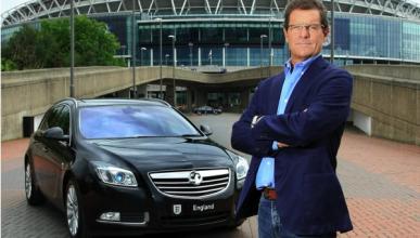 Fabio Capello conduce el Insignia