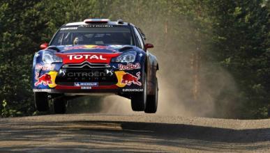 Loeb, líder tras la primera etapa en Finlandia