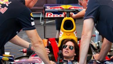 Tom Cruise, piloto de Fórmula 1