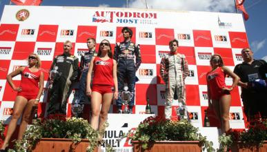 Carlos Sainz Júnior, el piloto más joven en ganar la NEC