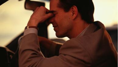 Los hombres se estresan más cuando conducen con tráfico