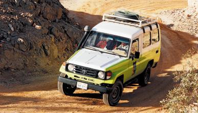 Toyota Land Cruiser j7 Sinaí frontal