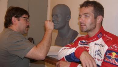 Sébastien Loeb, estrella del Museo de Cera de París