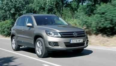 Volkswagen Tiguan Bluemotion frontal