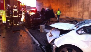 Un accidente en la M-50 causa un muerto y dos heridos