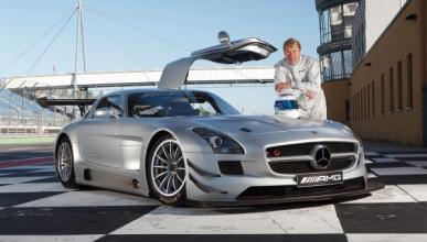 Häkkinen regresa a la competición con un SLS AMG GT3