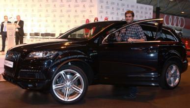 Casillas y su Audi Q7 3.0 TDI quattro tiptronic 245 CV