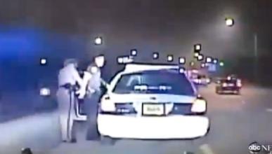 Persecución entre policías por exceso de velocidad