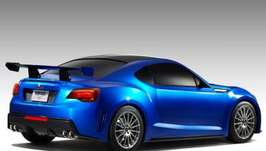 Subaru BRZ Concept STI trasera lateral