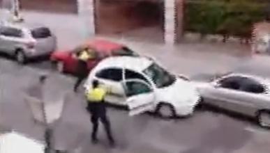 Dos personas heridas tras un tiroteo en Atocha