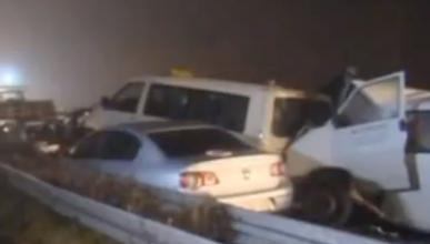 Tres muertos y 35 heridos en un accidente en Alemania