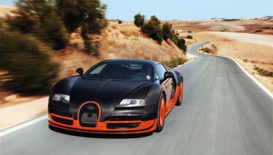 Bugatti Veyron 16.4 Super Sport frontal
