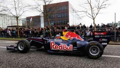 Exhibición de Red Bull