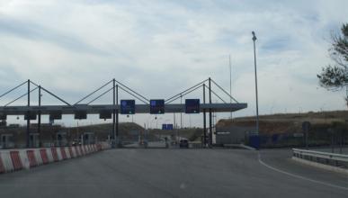 Disparos contra el peaje de la autovía del Algarve
