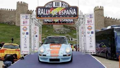 Rally Histórico de España Porsche