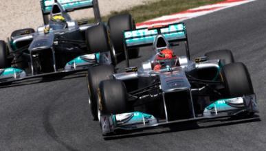 Schumacher, rey de los adelantamientos en la Fórmula 1 2011