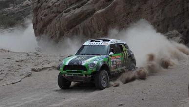 Peterhansel Mini Dakar 2012 cuarta etapa