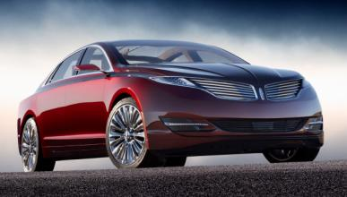 Lincoln MKZ Concept frontal