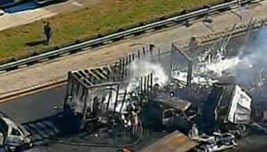 Un accidente en cadena en Florida causa 10 muertos