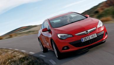 Opel Astra GTC 2.0 CDTI delantera
