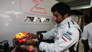 Narain Karthikeyan será el segundo piloto de HRT